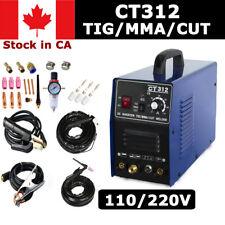 TIG MMA CUT CT312 3in1 Multifuntion Plasma Cutter Welding Machine in CA