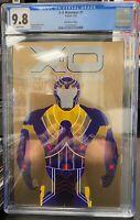 X-O MANOWAR #1 CGC 9.8 F 1:250 ALLEN BRONZE BRUSHED METAL VARIANT COVER VALIANT