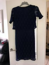 Party dress/ occasion wear so fabulous navy dress size 14