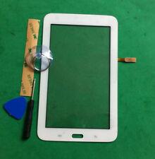 pour Samsung Galaxy Tab 3 Lite 7.0 SM-T110 T110 à écran tactile Digitizer blanc