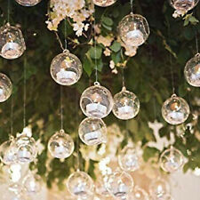 75Pc Globe Glass Hanging Candles Holders for Wedding Centerpieces Party Supplies
