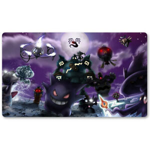 Pocket 51 - Board Game Pokemon Gengar Playmat Games Mousepad Play Mat of TCG