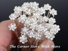 3 Wedding Hairpieces Pin Deb Bridal Flower Girl Bridesmaid Ring Bearer Headpiece