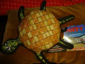 VIP TUFFY OCEAN CREATURE TURTLE WASHABLE AND FLOATING DOG TOY