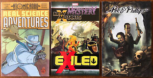 Lot of 3 (Three) TPB Graphic Novels New Mutants Thor Atomic Robo Marvel Indie