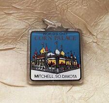 World's Only Corn Palace Key Ring Mitchell South Dakota Keychain