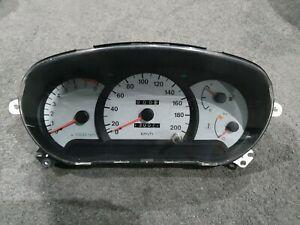 2001 HYUNDAI ACCENT 1.5L AUTO SPEEDOMETER SPEEDO INSTRUMENT CLUSTER 130,000KM