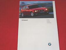 BMW 3er E36 compact 316i 318ti 318tds Prosspekt von 1996