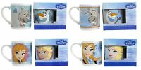 NEW DISNEY FROZEN CERAMIC MUG NOVELTY GIFT TEA COFFEE MUGS FROZEN