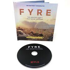 FYRE Netflix Documentary 2019 FYC DVD Music Festival Ja Rule Billy McFarland