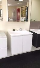 600mm Wall Hang Bathroom polyurethane vanity unit Cabinet Only