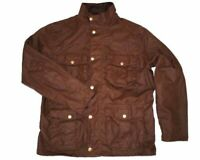 Barbour Men's New Utility Waxed Jacket in Bark
