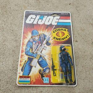 Vintage GI Joe Figure MOC 1983 Cobra Soldier FACTORY SEALED