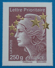 Timbre Maxi Format - Marianne Beaujard aux étoiles d'or - 250g Lettr prioritaire