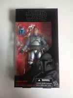 "Star Wars The Black Series Jango Fett Figure 6"" Wire on Arm is Broken Box"