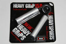 Heavy Grips Hand Grippers NEW HG150 + Finger Bands - Get a Crushing Grip NOW