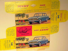 REPLIQUE  BOITE OPEL KADETT 1961/65 DINKY TOYS