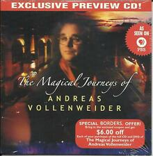 ANDREAS VOLLENWEIDER Magical Journeys PROMO SAMPLER CD