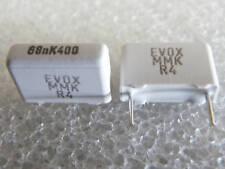 10 condensateurs 68nF 400V 10% Evox Rifa MMK