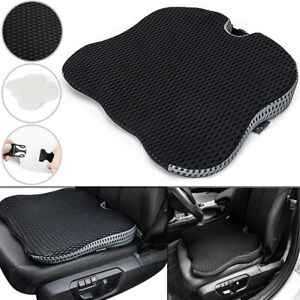Universal Memory Foam Car Front Seat Cushion Wedge Raised Thick Cover Pad Mat