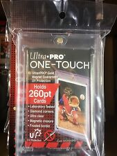 15 Ultra Pro One Touch 260 PT.Magnetic Extra Thick Card Storage Holders 84733-uv