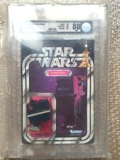 TOY KENNER STAR WARS POWER DROID 21 BACK-A AFA 80 ( C80 B85 F85 ) RARE UNPUNCHED