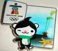 VANCOUVER 2010 OLYMPIC CANADA ENVIRONMENT - MIGA OFFICIAL MASCOT PIN NEW SEALED