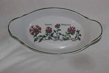 Ashley Ceramic Oven to Table Thymus Serpyllum Cake Plate Platter Serving Dish
