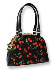Bolso Bowling Grande Cherries Leopard women bag animal print LIQUORBRAND