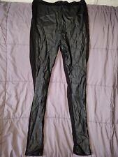 Topshop spandex Leather Leggings EUR 44 U.S 12 U.K 16