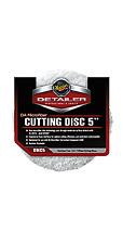 """Meguiars DA Microfibre Cutting Disc 5"""" 2 Pack"""