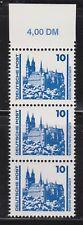DDR 1990 MiNr. 3344 I, als OR 3'er Streifen, PF, als postfrisch