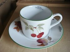 4 x Royal Worcester Evesham Vale Cups & Saucers. NEW BOXED