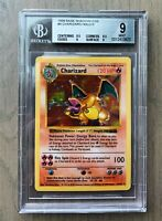 Charizard Holo Pokemon Card Shadowless 1999 Base Set 4/102 BGS/PSA 9 9.5/8.5/9/9