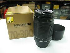 Nuevo NIKON AF 70-300mm 70-300 mm f/4-5.6 G Objetivo Zoom