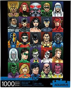 DC Comics Faces 1000 piece jigsaw puzzle 710mm x 510mm  (nm)