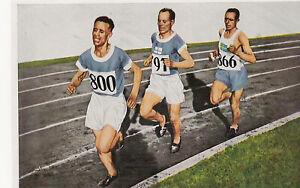 1936  Berlin  Olympia  Band I  Card   Olympic  Amsterdam 1928  10000m  Ritola