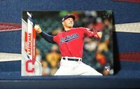 2020 Topps Series 2 #380 James Karinchak RC Rookie Cleveland Indians