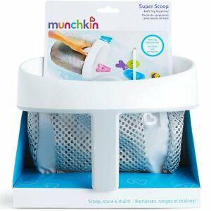 NEW Munchkin Super Scoop Bath Toy Organiser Kids Toddlers Bathtime Parents Gift!