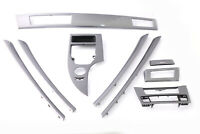 BMW 5 Series E60 E61 LCI Set Decorative Strip Dash Interior Trim Cover Grey