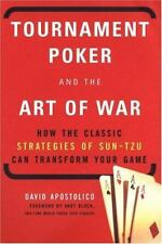 Tournament Poker and the Art of War (Paperback or Softback)