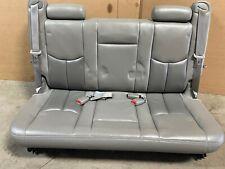 2004 GMC DENALI CHEVY SUBURBAN YUKON XL REAR LEATHER BENCH SEAT 3RD ROW
