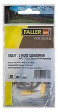 Faller 180677 3 micro-peras blanco NUEVO EMBALAJE ORIGINAL