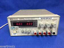 Agilent /HP  E3630A 35W Triple Output, 6V, 2.5A & ±20V, 0.5A  DC Power Supply