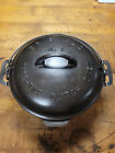 Griswold No. 7 Cast Iron Tite-Top Dutch Oven 2603 and Lid 2604
