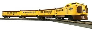 MTH LIONEL O GAUGE TINPLATE UNION PACIFIC CITY OF DENVER PASSENGER SET 11-6021-1