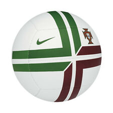 Nike Portugal Pitch SE Euro 2012 Soccer Ball New White / Green / Red Size 5
