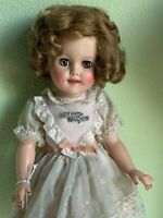 "Vintage Ideal Shirley Temple 15"" Doll 1950s"