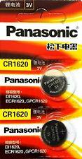 3V, Lithium Watch Battery Exp. 2023 2 X Panasonic Cr1620, Dl1620, Ecr1620,
