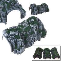 Universal plastic sandtable 1:87 scale model toy train railway cave tunnel HU